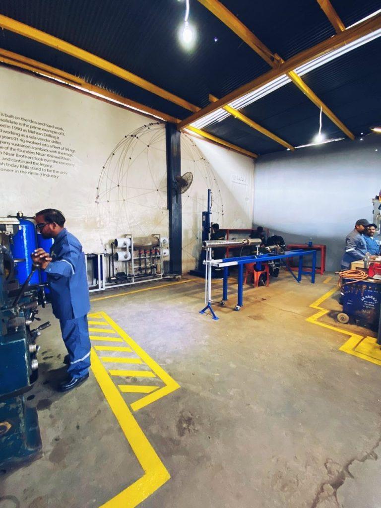 Activities undergo for maintenance of sumberible pump in karachi