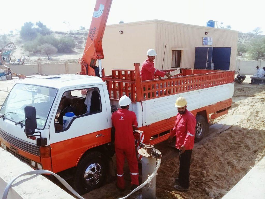 Working in progress by suubmersible pump suppplier in karachi