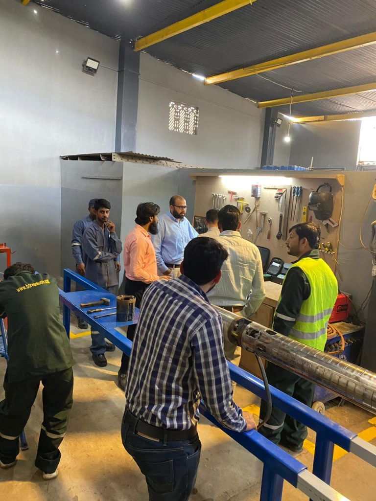 Inspection of tools and equipements